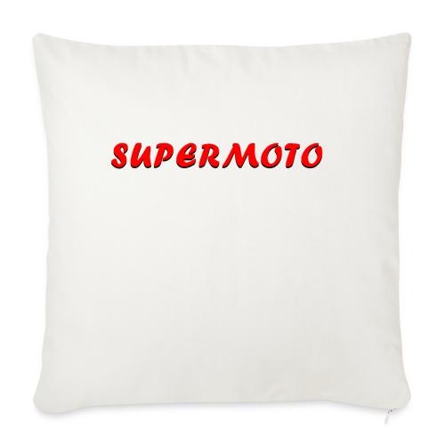 SupermotoLuvan - Soffkuddsöverdrag, 45 x 45 cm