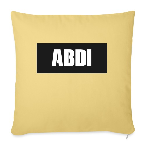 Abdi - Sofa pillowcase 17,3'' x 17,3'' (45 x 45 cm)