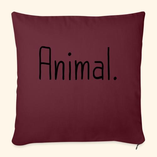 Tier Animal Tierliebe Tierschutz - Sofakissenbezug 44 x 44 cm