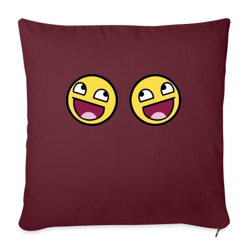 Boxers lolface 300 fixed gif - Sofa pillowcase 17,3'' x 17,3'' (45 x 45 cm)