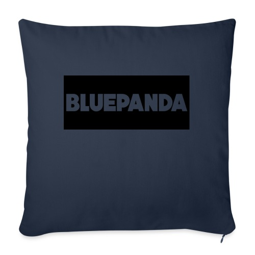 BLUE PANDA - Sofa pillowcase 17,3'' x 17,3'' (45 x 45 cm)