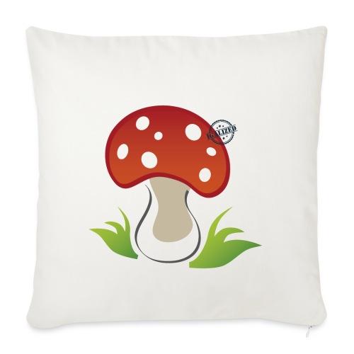 Mushroom - Symbols of Happiness - Sofa pillowcase 17,3'' x 17,3'' (45 x 45 cm)