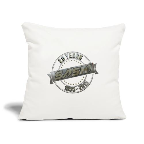 SASH! *** 20 Years *** - Sofa pillowcase 17,3'' x 17,3'' (45 x 45 cm)