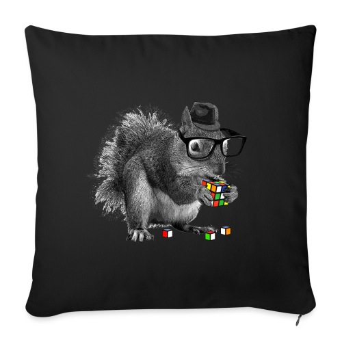 Rubik's Squirrel - Sofa pillowcase 17,3'' x 17,3'' (45 x 45 cm)