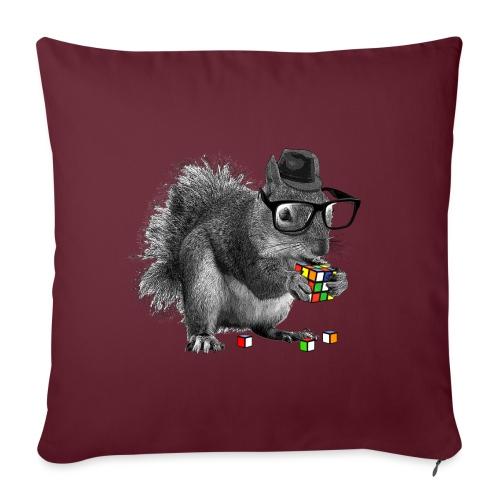 Rubik's Squirrel - Sofa pillowcase 17,3'' x 17,3'' (45 x 45 cm)