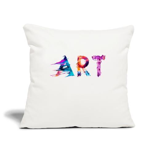 Art - Housse de coussin décorative 45x 45cm