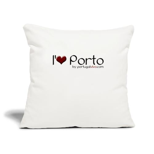 I Love Porto - Housse de coussin décorative 45x 45cm