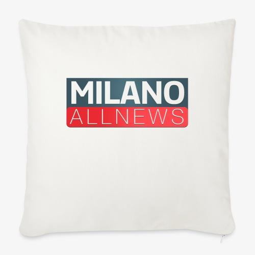Milano AllNews Logo - Copricuscino per divano, 45 x 45 cm