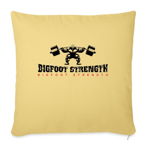 Bigfoot Strength 1 - Sofa pillowcase 17,3'' x 17,3'' (45 x 45 cm)