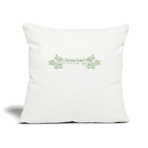 scoia tael - Sofa pillowcase 17,3'' x 17,3'' (45 x 45 cm)