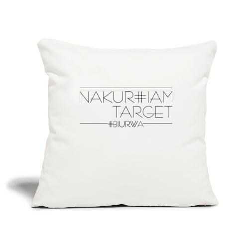 Nakur#iam Target - Poszewka na poduszkę 45 x 45 cm
