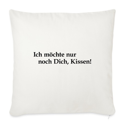 Kiss mich! - Sofakissenbezug 44 x 44 cm