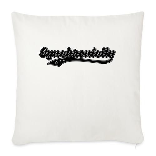 Synchronicity - Housse de coussin décorative 45x 45cm