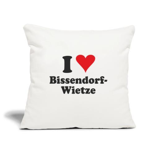 I Love Bissendorf-Wietze - Sofakissenbezug 44 x 44 cm