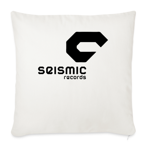Seismic Records - Sofa pillowcase 17,3'' x 17,3'' (45 x 45 cm)