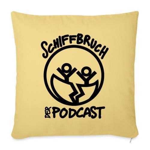 Schiffbruch - Der Podcast - Sofakissenbezug 44 x 44 cm