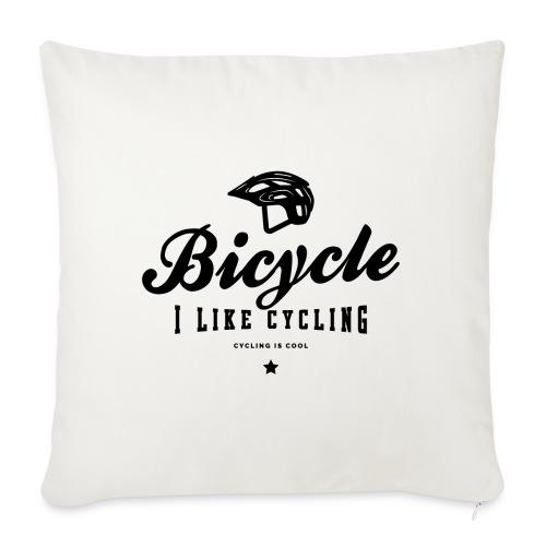 bicycle - Poszewka na poduszkę 45 x 45 cm
