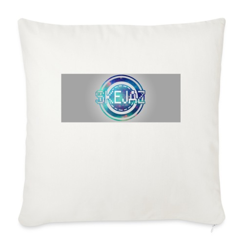 LOGO WITH BACKGROUND - Sofa pillowcase 17,3'' x 17,3'' (45 x 45 cm)