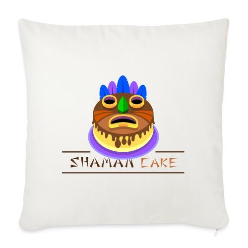Shaman Cake Official - Copricuscino per divano, 45 x 45 cm