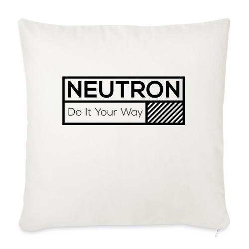 Neutron Vintage-Label - Sofakissenbezug 44 x 44 cm