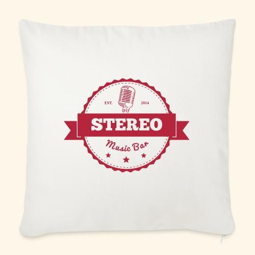 Stereo Retro Design - Sofakissenbezug 44 x 44 cm