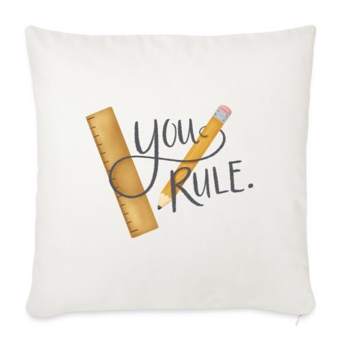 You rule! - Soffkuddsöverdrag, 45 x 45 cm