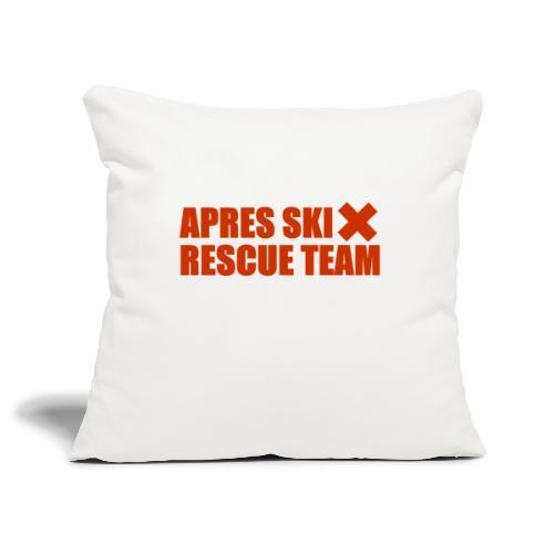 apres-ski rescue team - Sierkussenhoes, 45 x 45 cm