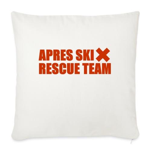 apres-ski rescue team - Sofa pillowcase 17,3'' x 17,3'' (45 x 45 cm)
