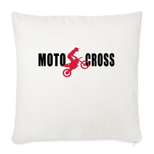 air Motocross - Housse de coussin décorative 45x 45cm