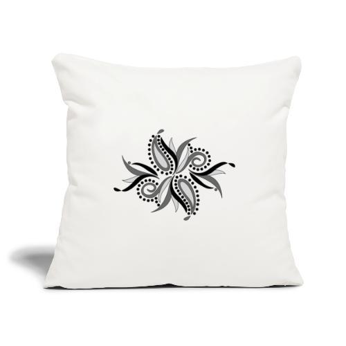 foglie astratte - Copricuscino per divano, 45 x 45 cm