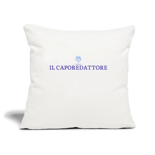 logo large - Copricuscino per divano, 45 x 45 cm