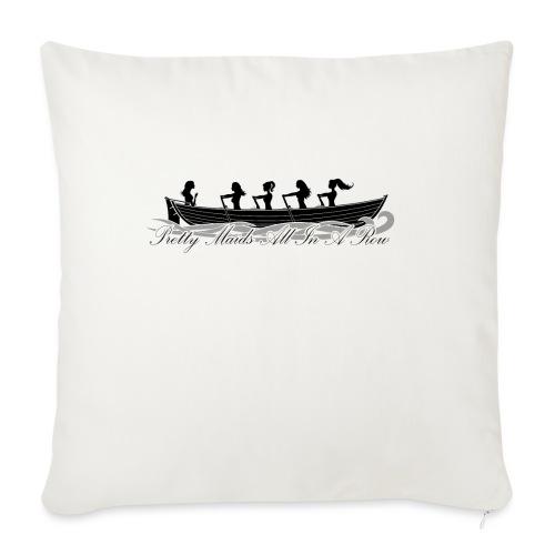 pretty maids all in a row - Sofa pillowcase 17,3'' x 17,3'' (45 x 45 cm)