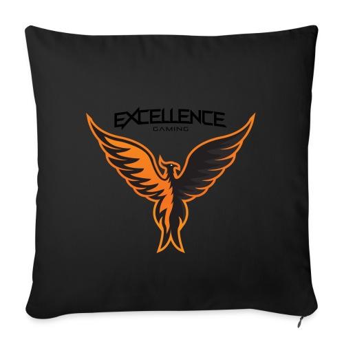 Logo Phoenix Typo - Housse de coussin décorative 45x 45cm