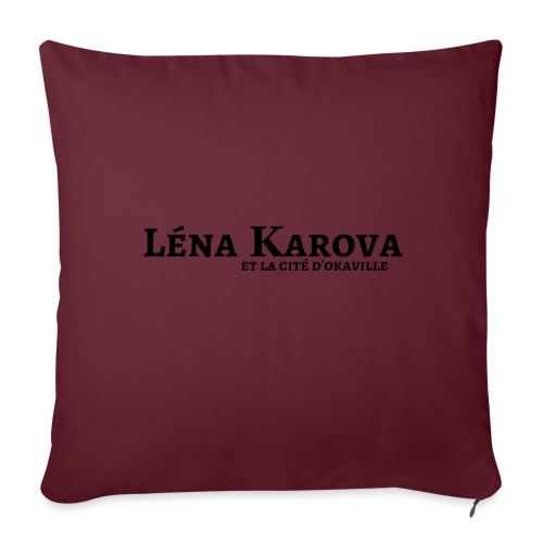 Lena Karova - Produits Dérivés - - Housse de coussin décorative 45x 45cm