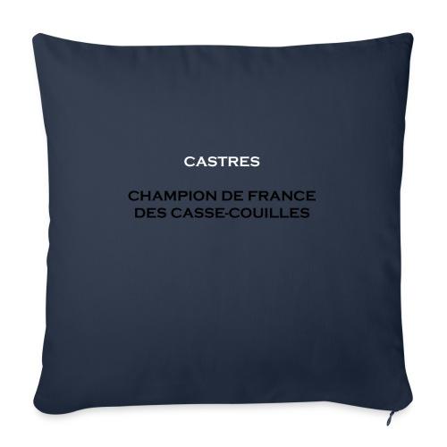 design castres - Housse de coussin décorative 45x 45cm