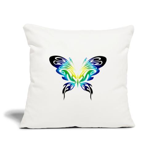 Motyl kolor - Poszewka na poduszkę 45 x 45 cm