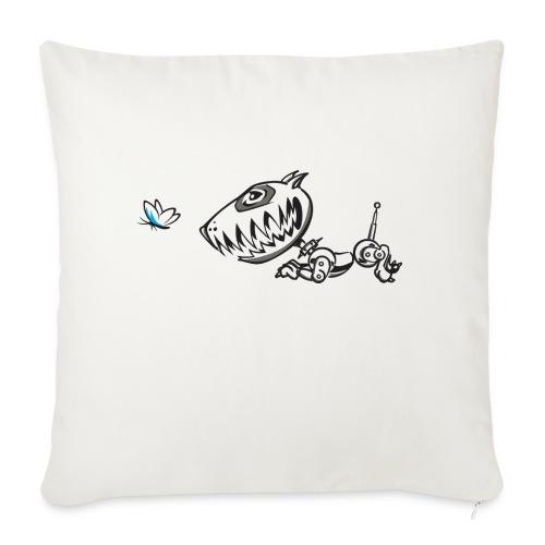 Robodog - Sofa pillowcase 17,3'' x 17,3'' (45 x 45 cm)