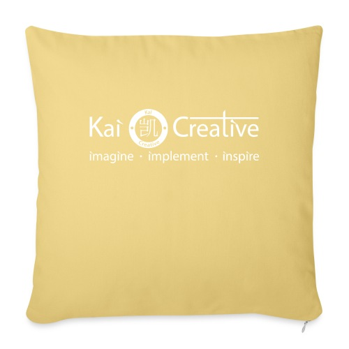 Classic Kai Creative Logo T-shirt - Sofa pillowcase 17,3'' x 17,3'' (45 x 45 cm)