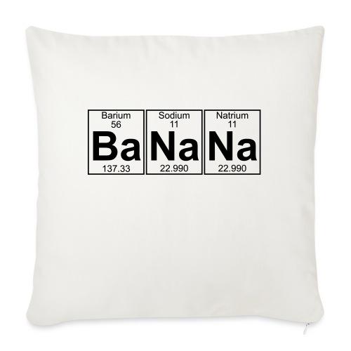 Ba-Na-Na (banana) - Full - Sofa pillowcase 17,3'' x 17,3'' (45 x 45 cm)