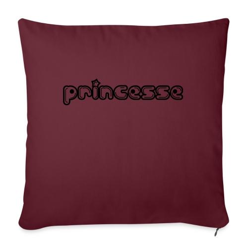 Princesse - Housse de coussin décorative 45x 45cm