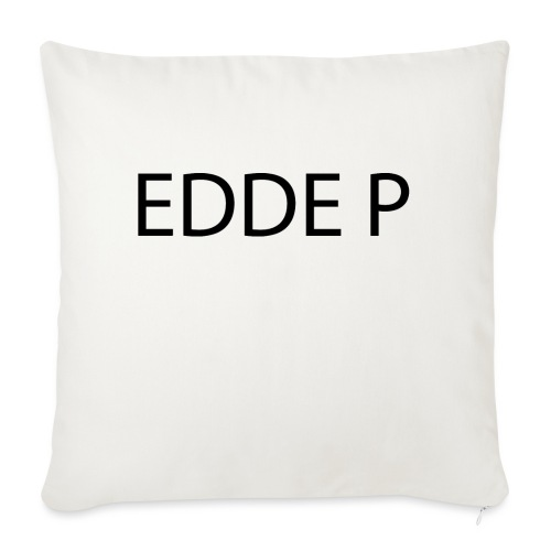 EDDE P - Soffkuddsöverdrag, 45 x 45 cm