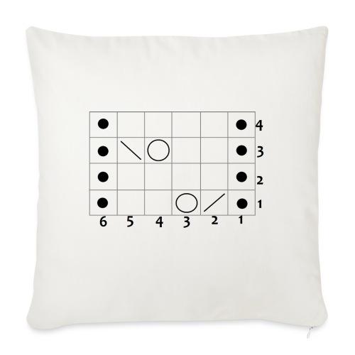 My Lace- - Sofa pillowcase 17,3'' x 17,3'' (45 x 45 cm)