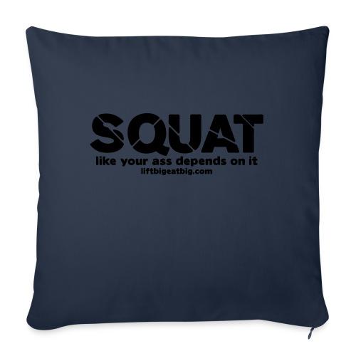 squat - Sofa pillowcase 17,3'' x 17,3'' (45 x 45 cm)