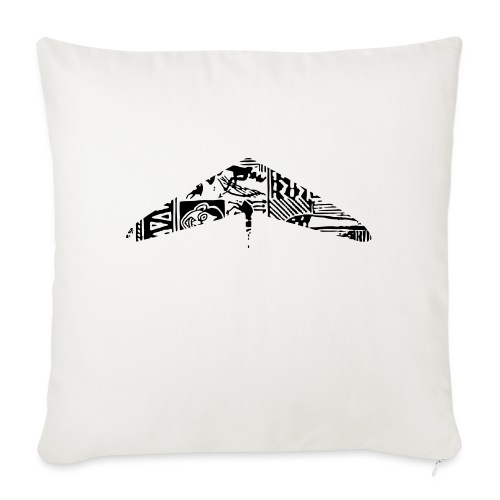 hanggliding pattern - Sofa pillowcase 17,3'' x 17,3'' (45 x 45 cm)
