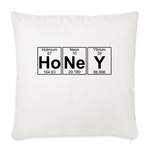 Ho-Ne-Y (honey) - Full - Sofa pillowcase 17,3'' x 17,3'' (45 x 45 cm)