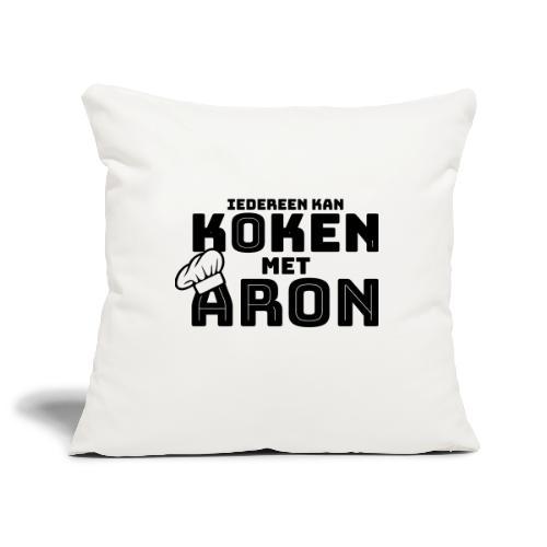 Koken met Aron - Sierkussenhoes, 45 x 45 cm