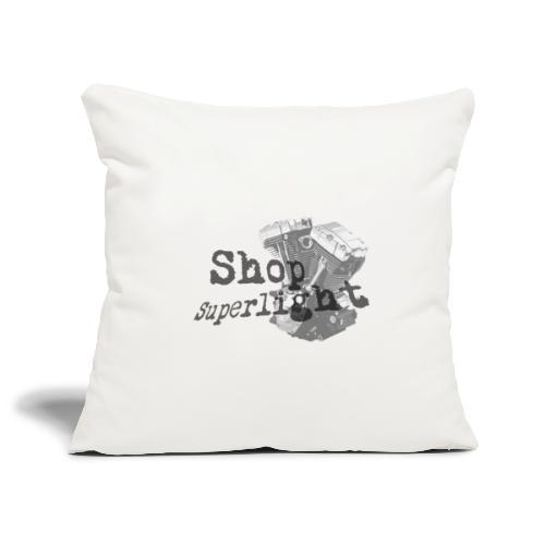 ShopSuperlight Logo stor - Pudebetræk 45 x 45 cm