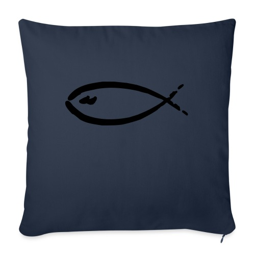 fish - Sofakissenbezug 44 x 44 cm