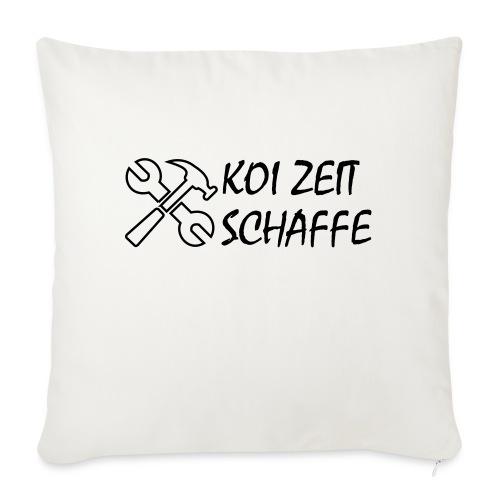 KoiZeit - Schaffe - Sofakissenbezug 44 x 44 cm