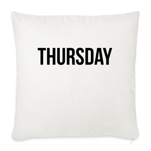 Thursday - Sofa pillowcase 17,3'' x 17,3'' (45 x 45 cm)